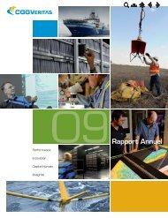 rapport annuel 2009 - CGG Veritas