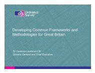 Developing Common Frameworks and Methodologies for Great Britain ...
