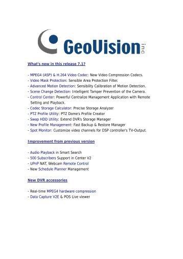 Geovision GV-DVR 7.1