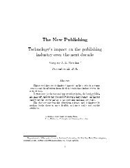 The New Publishing - Bad Request - Indiana University