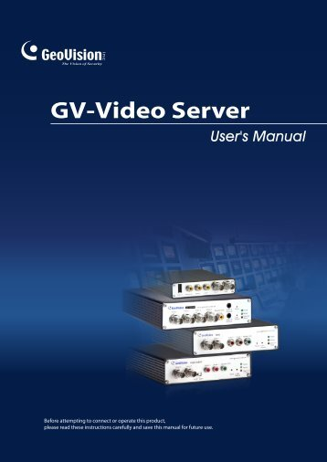 Chapter 3 Accessing the GV-Video Server - Security Camera Systems