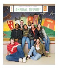 2006 Annual Report - Boys and Girls Club of Boston
