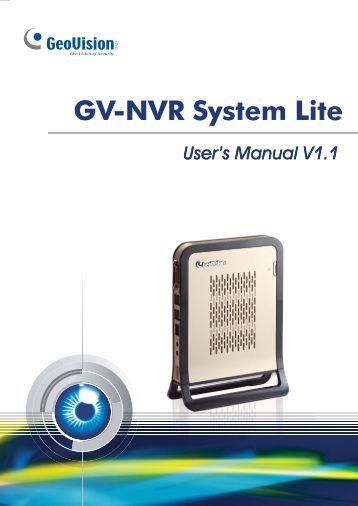 Geovision center v2 User Manual