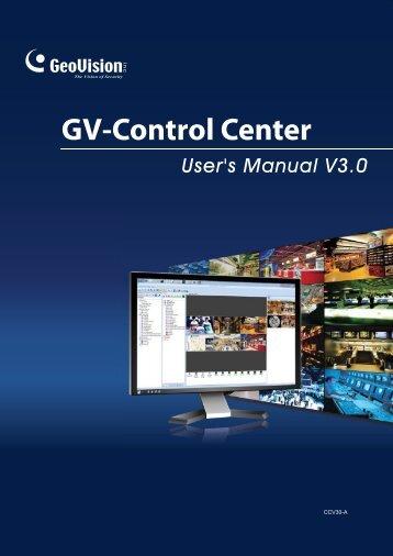 GV-Control Center - Ezcctv