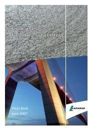 Press kit Concretes for the  21st century - Lafarge