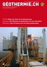 Höhen und Tiefen der Energiegewinnung - Geothermie