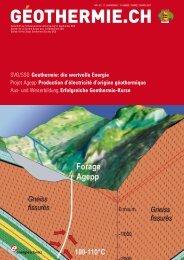 Geothermie: die wertvolle Energie