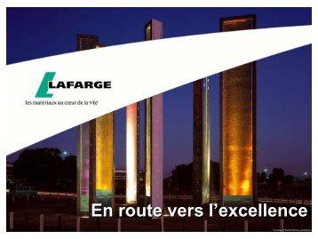 Présentation du groupe Lafarge 2008