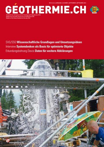 Bulletin GEOTHERMIE.CH