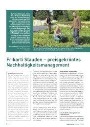 Der Gartenbau 27/2012 - Frikarti Stauden AG