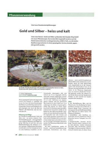 g'plus 18/2008; Gold und Silber Staudenmischung - Frikarti Stauden ...