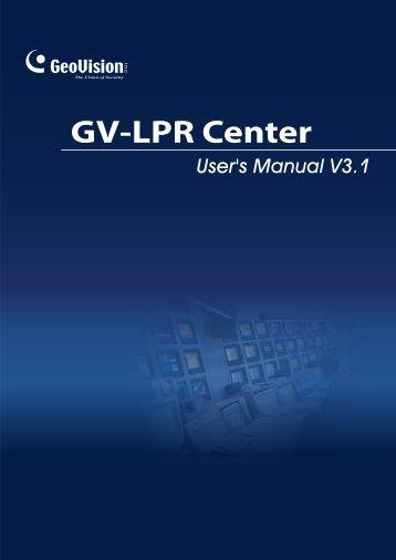 GV-LPR Center - GeoVision