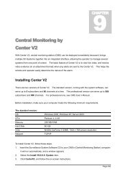 Central Monitoring by Center V2 - Surveillance System, Security ...
