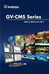 GV-CMS Series - Surveillance System, Security Cameras, and ...