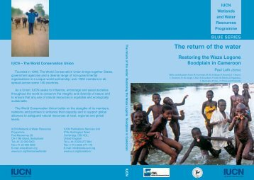 The return of the water - IUCN