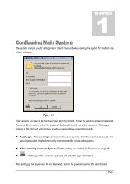 Configuring Main System - Surveillance System, Security Cameras ...