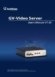 Chapter 3 Accessing the GV-Video Server - Smarthome