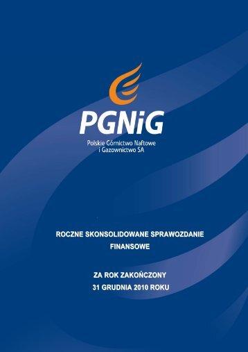 Skonsolidowane Sprawozdanie Finansowe GK PGNiG 2010.pdf