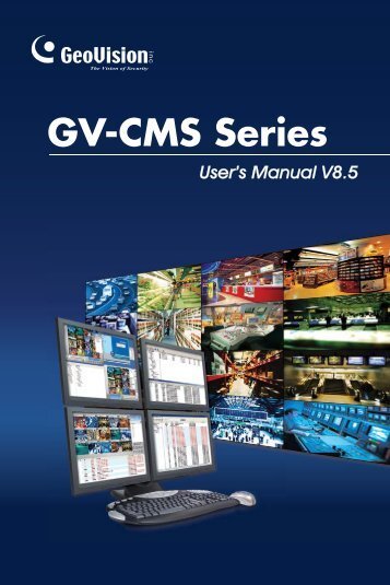Geovision CMS Manual(8.5) - XTECHCAM