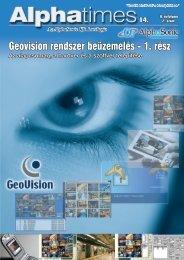 Geovision rendszer beüzemelés - 1. rész - Alphasonic