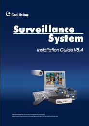 Geovision NVR Software Installation Guide - Use-IP