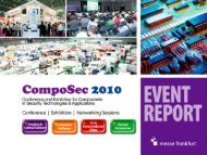 Conference | Exhibition | Networking Sessions - CompoSec