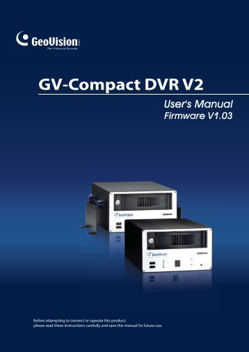 Compact DVR V2-En.pdf - Security Camera Systems