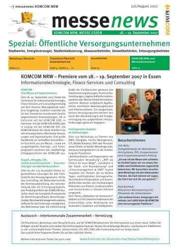 Spezial: Öffentliche Versorgungsunternehmen - G&W Software ...