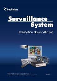 Installation Guide V8.5.6.0 - ApexCCTV