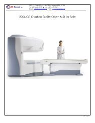 2006 GE Ovation Excite Open MRI for Sale