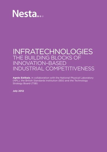 Download the Infratechnologies report (PDF 914KB) - Nesta