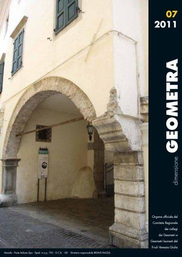 GEOMETRA - Collegio dei Geometri della Provincia di Udine